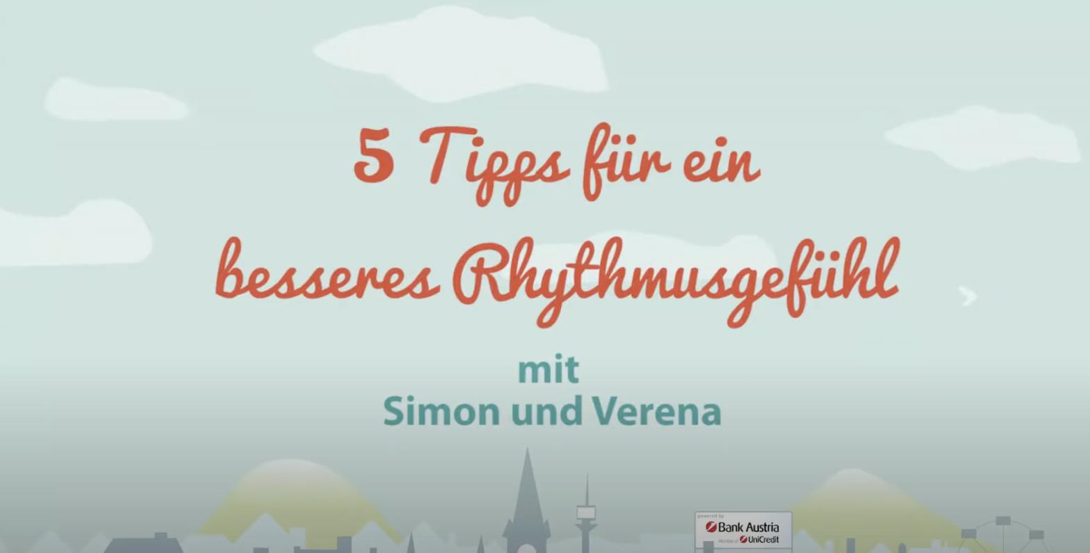 5 Tipps für ein besseres Rhythmusgefühl